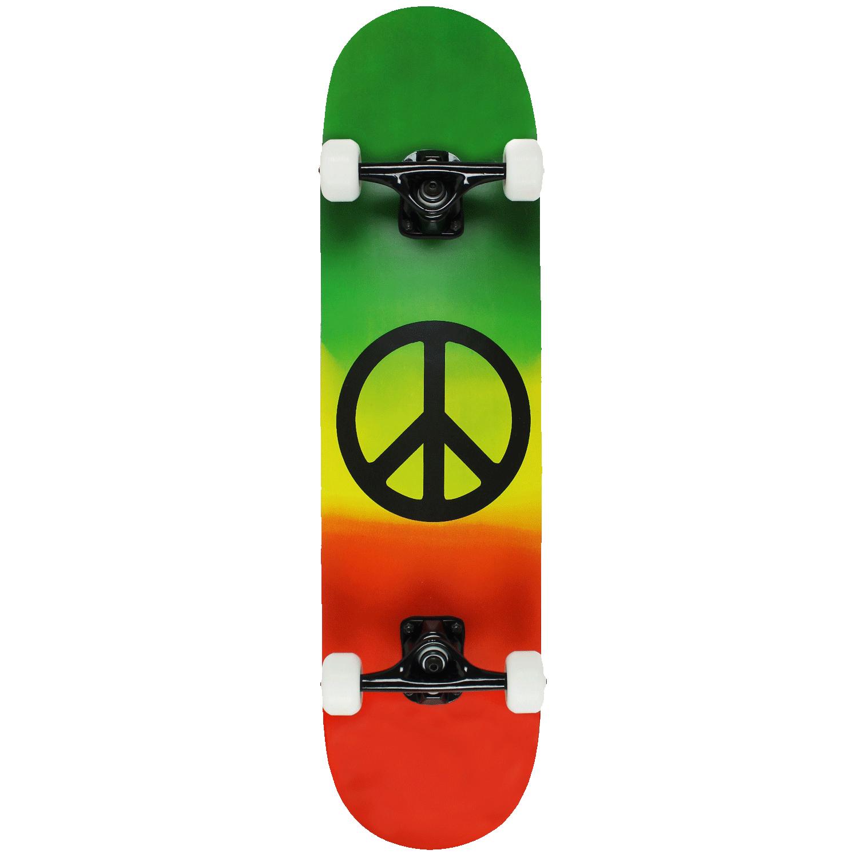 Krown KPC Complete Rasta Peace 7.75″