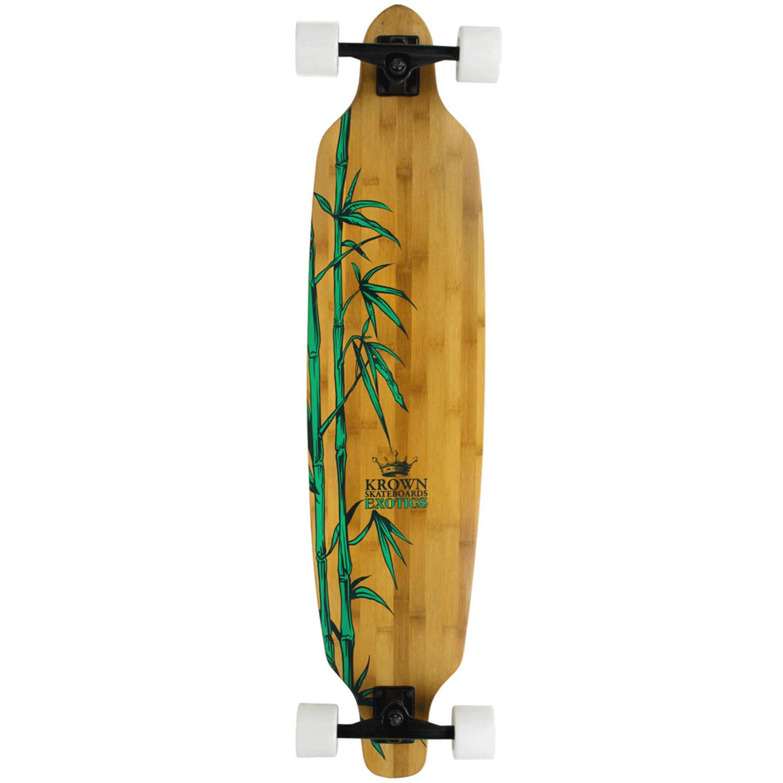 Krown Longboard Exotic Bamboo Drop Through 9.25″ x 41″