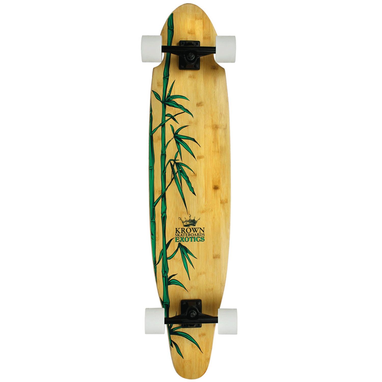 Krown Longboard Exotic Bamboo Kicktail 9″ x 43″