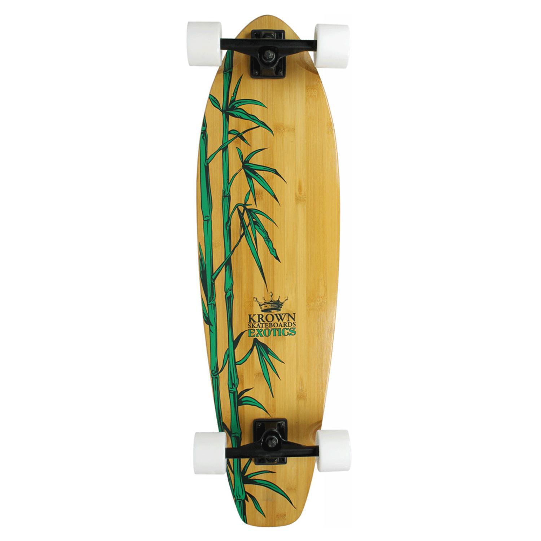 Krown Longboard Exotic Bamboo Cruiser 9.75″ x 36″