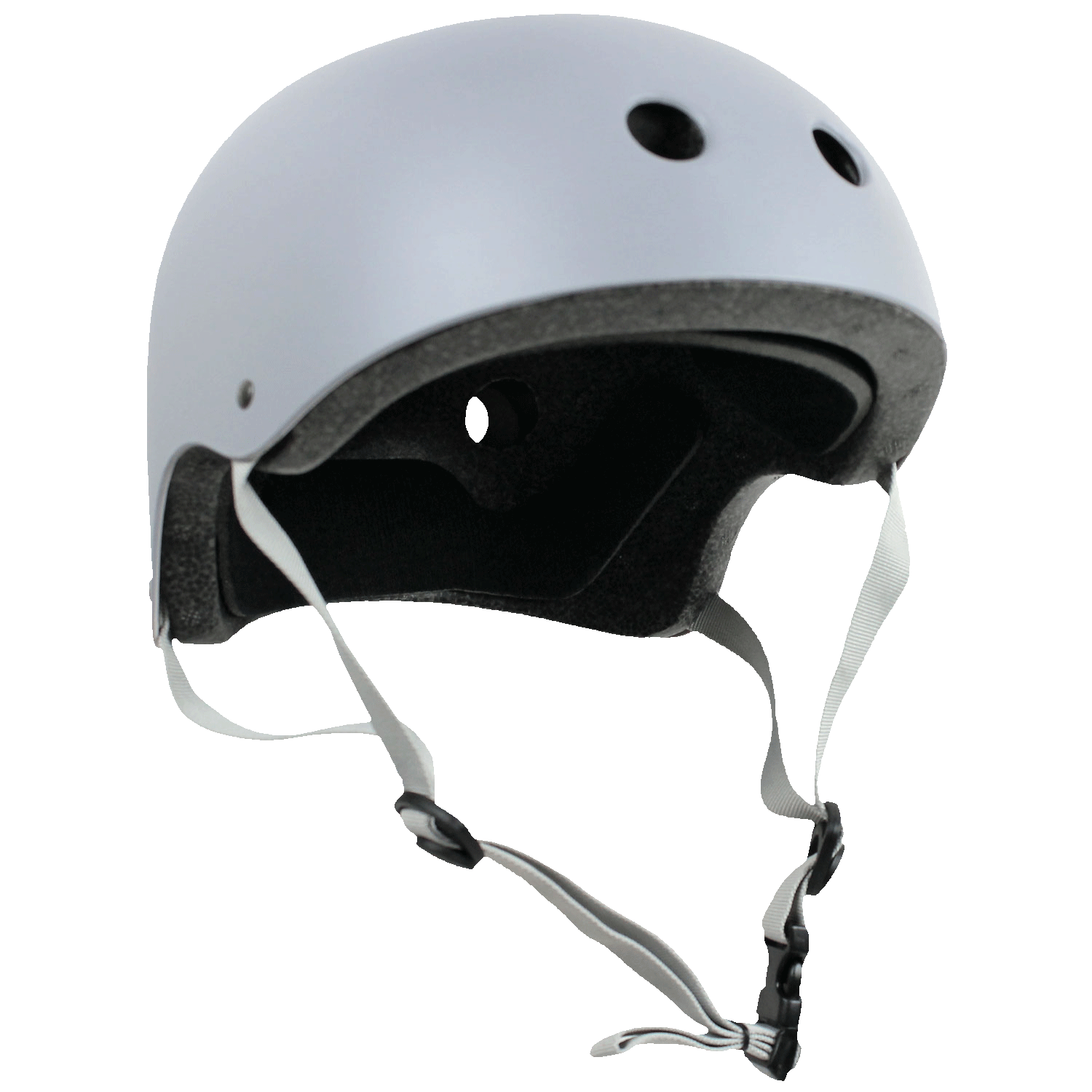 Krown Adult Skateboard Helmet Gray OSFA