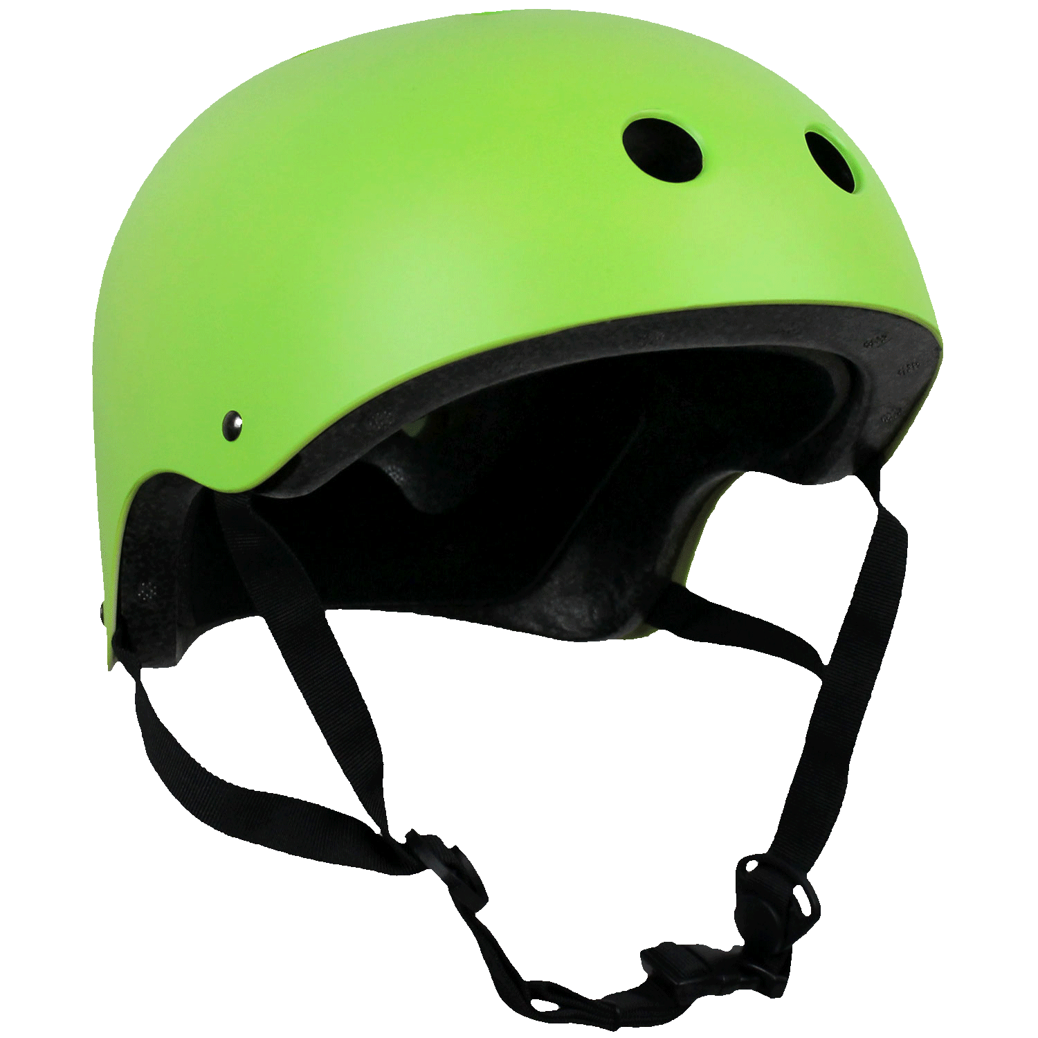 Krown Adult Skateboard Helmet Neon Green/Black OSFA