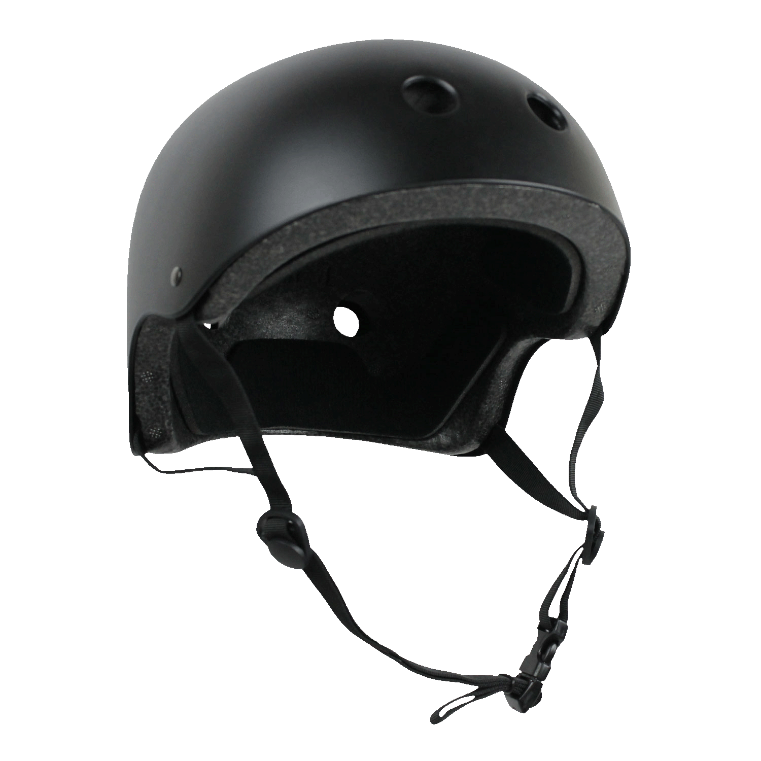 CPSC Skateboard Fitness Helmet Black Youth Size Youth