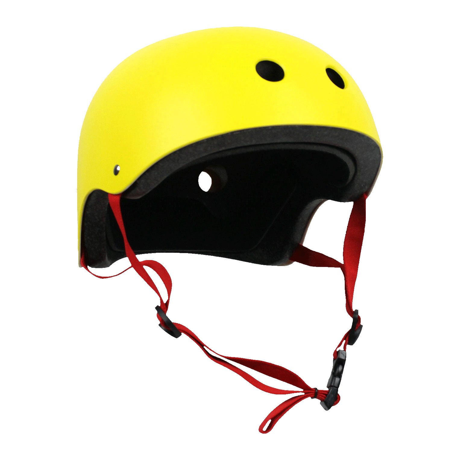 Krown Adult Skateboard Helmet Yellow/Red OSFA