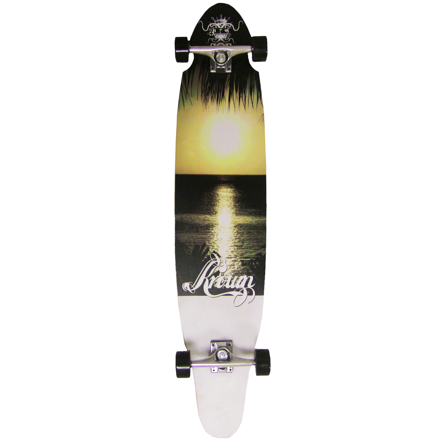 Krown Longboard Complete Kicktail Hawaii 9″ x 43″