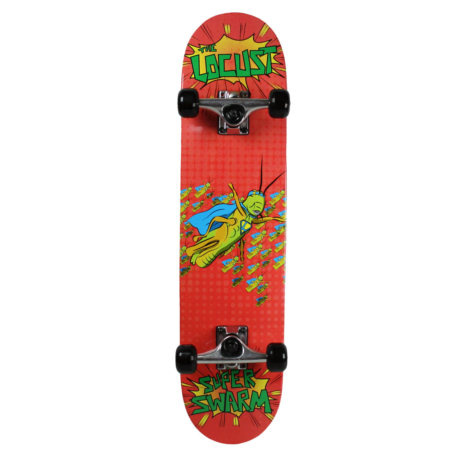 Krown Complete Super Bug The Locust Red 7.25″ & 7.5″