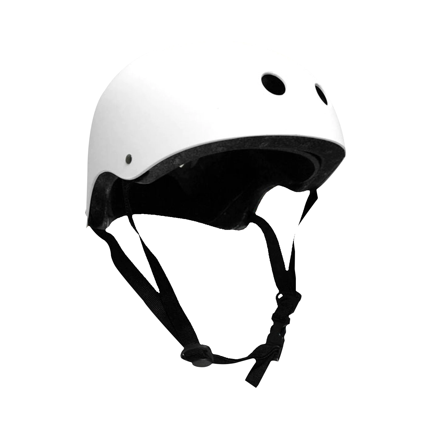 CPSC Skateboard Fitness Helmet White Youth Size Youth